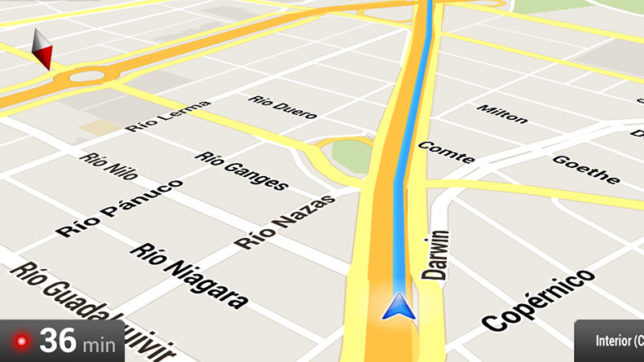 how to add intersection as stop google maps