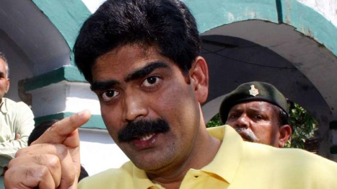 Former RJD strongman Shahabuddin brought to Patna on way to Tihar
