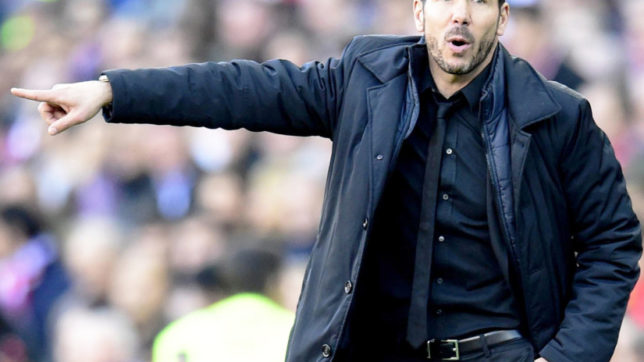 Atletico Madrid coach Diego Simeone denies he's in talks to be Argentina coach
