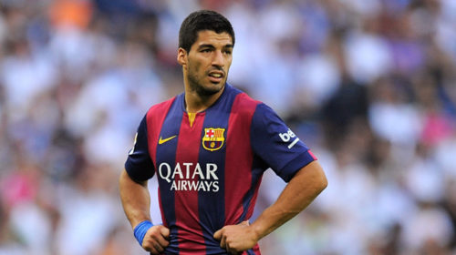 Injured Barcelona striker Luis Suarez to miss Uruguay's World Cup qualifiers