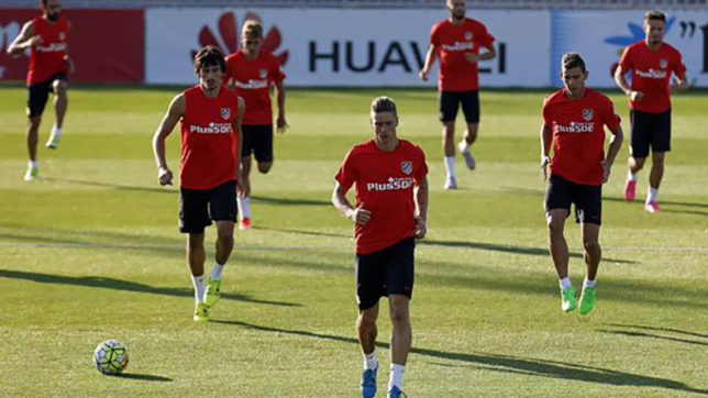 Atletico Madrid's 29-player squad off to Munich for Audi Cup