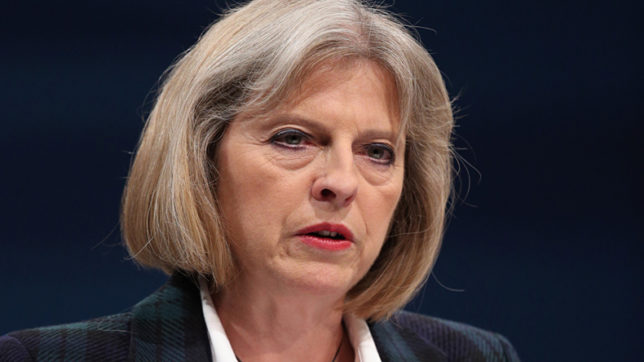 Article: 50 British Prime Minister Theresa May signs Article 50 notification letter to EU leader