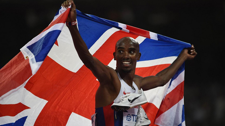Mo Farah wins third straight gold at IAAF World Championships