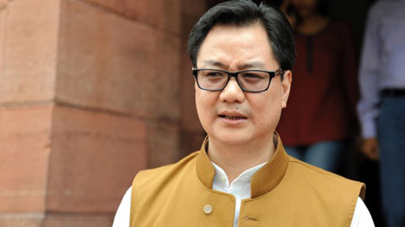 No delay in flood relief by government, says Kiren Rijiju