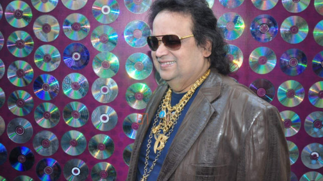 Bappi Lahiri dubs for Elton John in Hindi