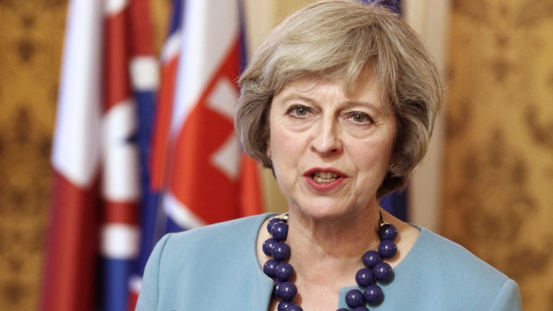 British Prime Minister Theresa May rejects petition against Trump's state visit to Britain