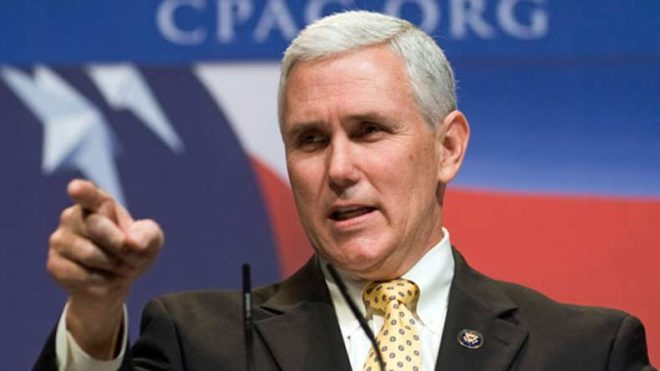 US Vice President Mike Pence slams Christian 'genocide' by IS