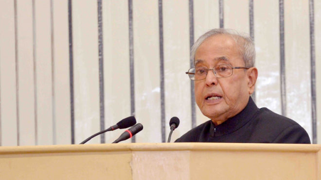 President Pranab Mukherjee calls for strong electoral reforms, more parliamentary seats