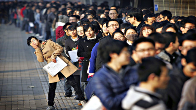 China to create over 50 mn jobs by 2020