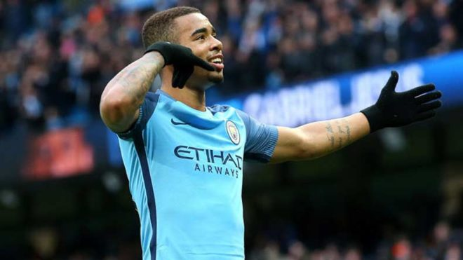 Man City's Jesus could miss rest of season with foot injury