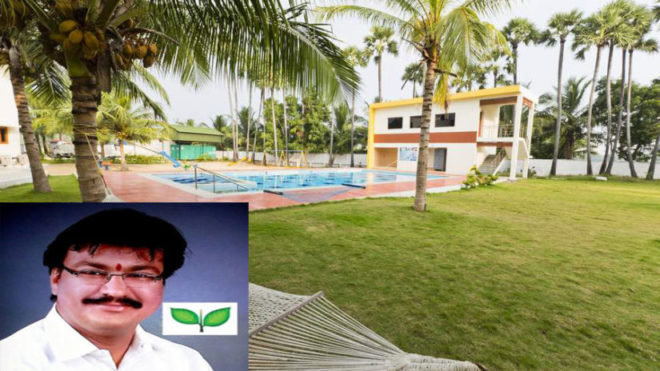 Another blow to Sasikala! AIADMK MLA SS Sarvanan makes dramatic escape from Golden Bay resort