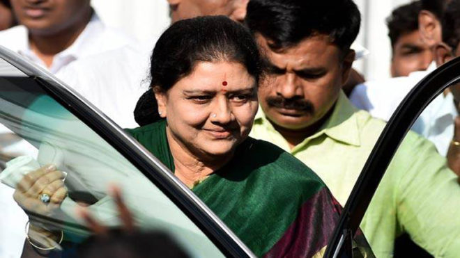 Now, Sasikala plays 'woman card'; says very difficult for a woman to be in politics