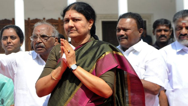PIL in SC to restrain Sasikala from being sworn in as Tamil Nadu CM