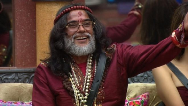 WATCH: Swami Om at it again! Says earthquake occurred because he was ill-treated on Bigg Boss