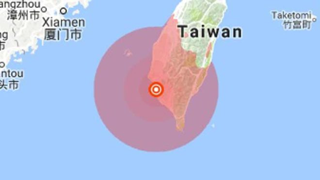 tAIWAN-EARTHQUAKE-