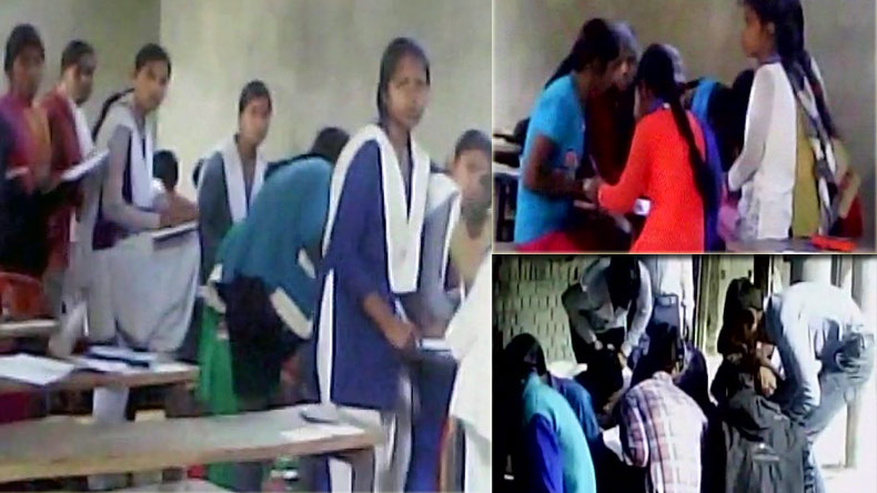 Uttar Pradesh Board examinations: Mass cheating during UP board exam in Balia, Uttar Pradesh