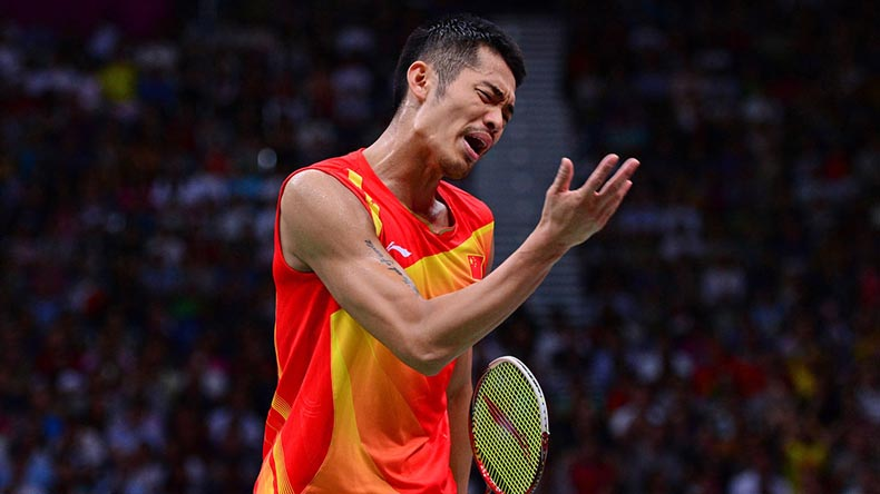 Chen Long takes first gold at Badminton Asia Championships