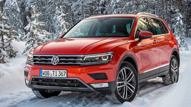 Volkswagen launches Tiguan in India on May 24th, 2017