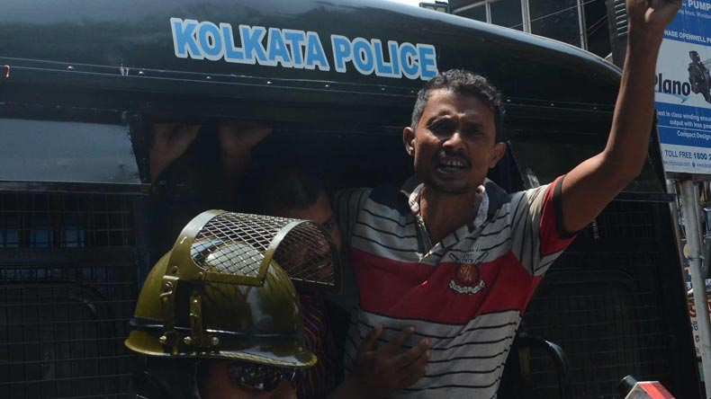 Indian police arrest 150 from Modi's party in Kolkata clashes