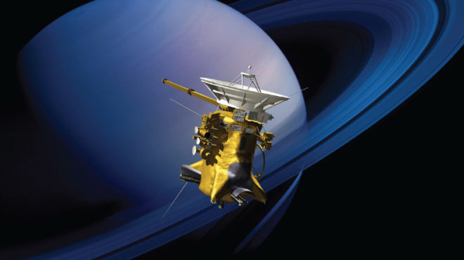 Cassini set for second dive between Saturn and its rings