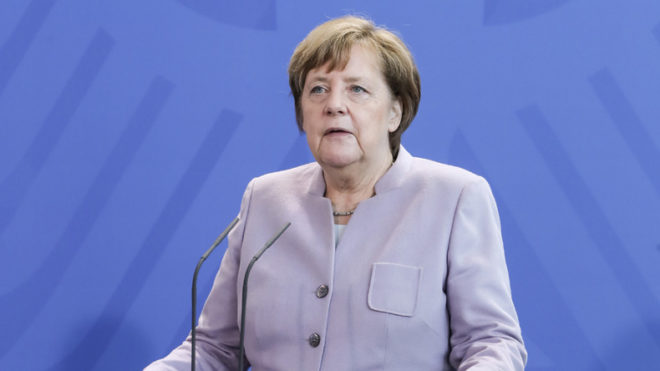 German-Asian ties no snub to US Angela Merkel