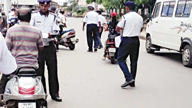 Goa Police ask people to email photos, videos of traffic violations