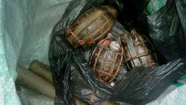 Large cache of grenades found in Tripura, defused