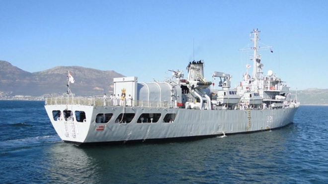 INS Darshak completes hydrographic surveys in Sri Lanka