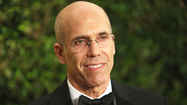 Jeffrey Katzenberg feted with Palme d'Or at Cannes