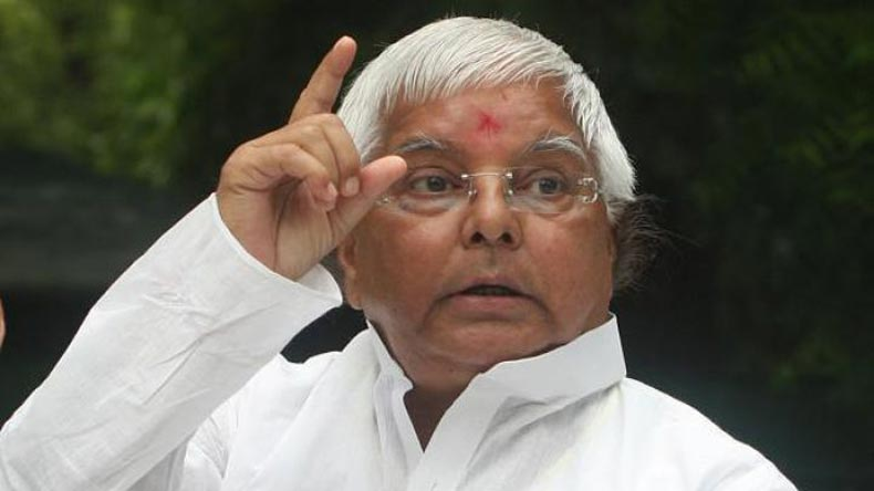 Lalu Yadav denies 'benami' land deals; vows to 'uproot' Modi government