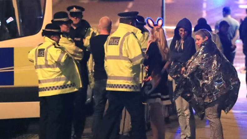 Police Reveal Photos Of Manchester Bomber On Night Of Attack
