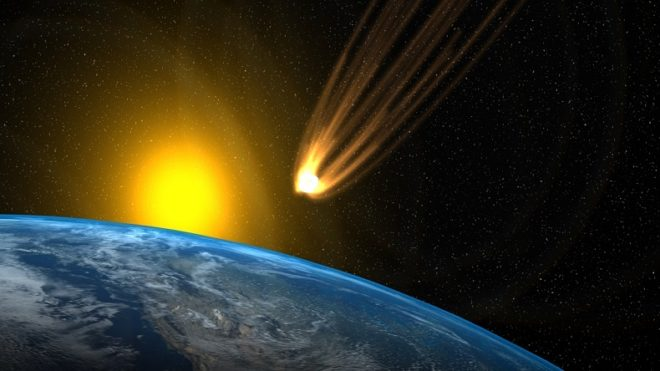 Meteorite impact can trigger volcanic eruptions on Earth