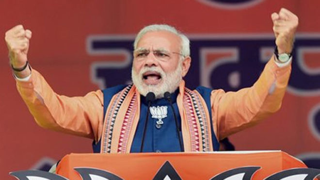 Constructive criticism strengthens democracy: Modi on 3 years