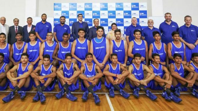 NBA-officially-inaugurates-first-training-academy-in-India