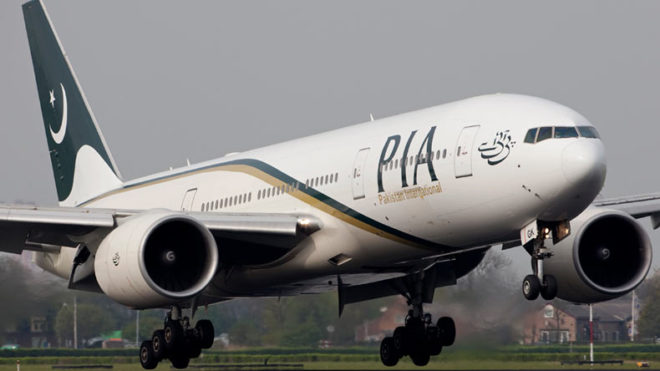 Pakistan International Airlines acts against pilot who slept on flight
