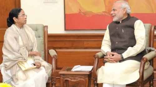 Left Front, Congress frown over Mamata-PM Modi meeting