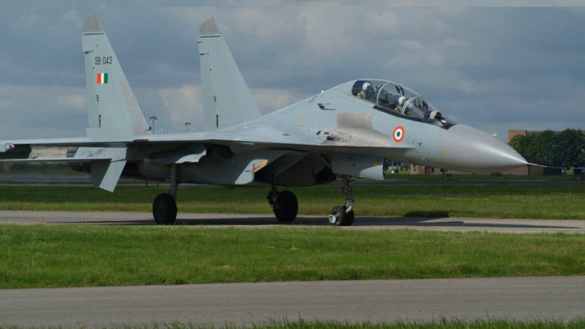Crashed Su-30's pilots declared dead by IAF