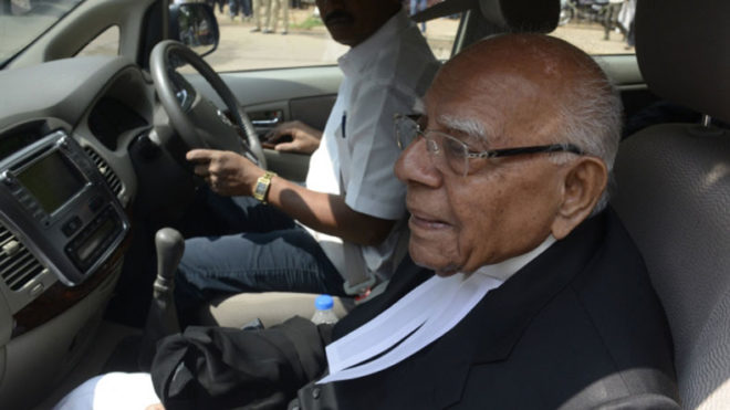 Jethmalani asks if Jaitley intends to bring Modi as his 'character witness'