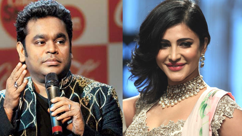 Rahman, Shruti Haasan thrilled about Cannes debut