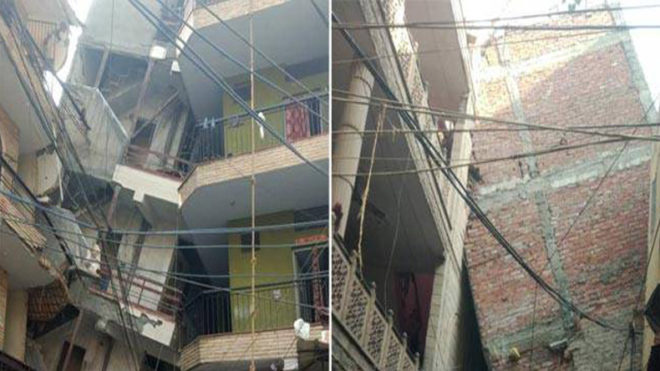 5-storey building collapses in Delhi; many injured