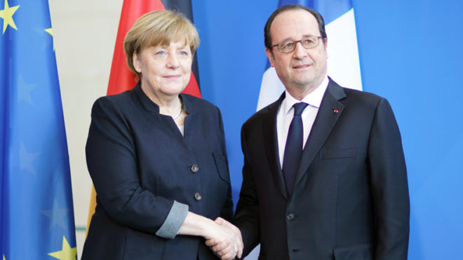 Francois Hollande to meet Angela Merkel after French election