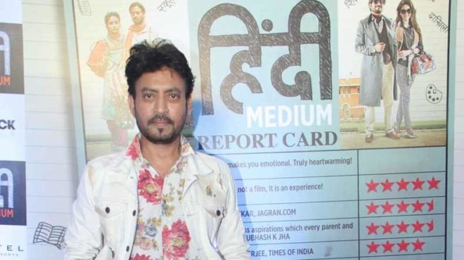 Irrfan shows quirky side with Instagram debut