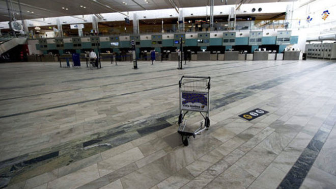 Swedish airport evacuated as suspicious objects found