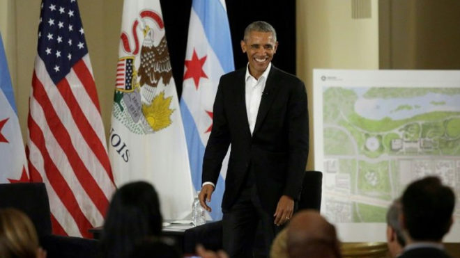 Former US President Barack Obama unveils Presidential Center design