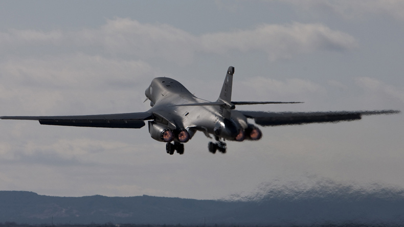 US to send two strategic B-1 bombers to Korean peninsula