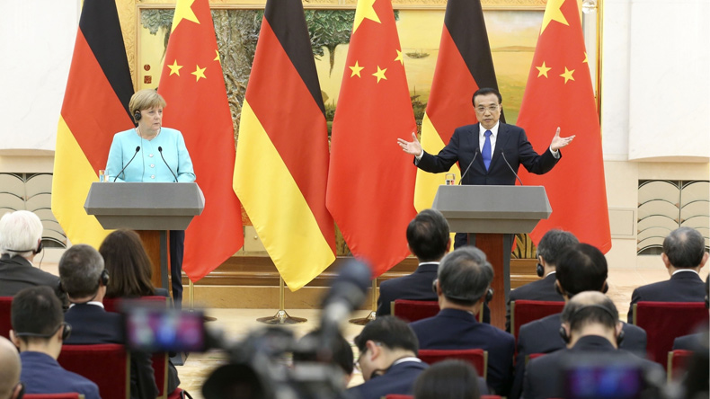 Germany and China should cooperate on protecting climate -Merkel