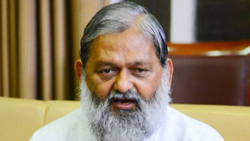 Hindus can't be terrorists, says Haryana Minister Anil Vij