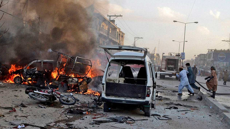 11 people killed in Pakistan blast