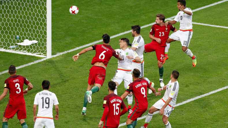 FIFA Confederations Cup: Mexico snatch late 2-2 draw against Portugal