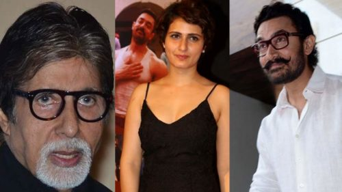 Amitabh Bachchan goes out for movie with Aamir, Fatima